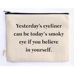 Ellembee Gift Zipper Pouch - Smoky Eye