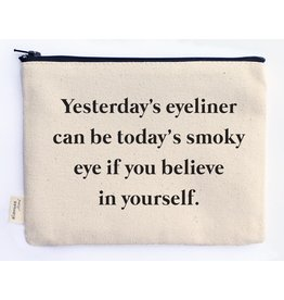 Ellembee Gift Zipper Pouch - Smoky Eye