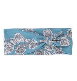 Pistil Peony Headband - Blue
