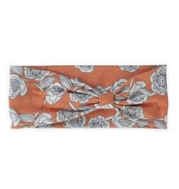 Pistil Peony Headband - Orange