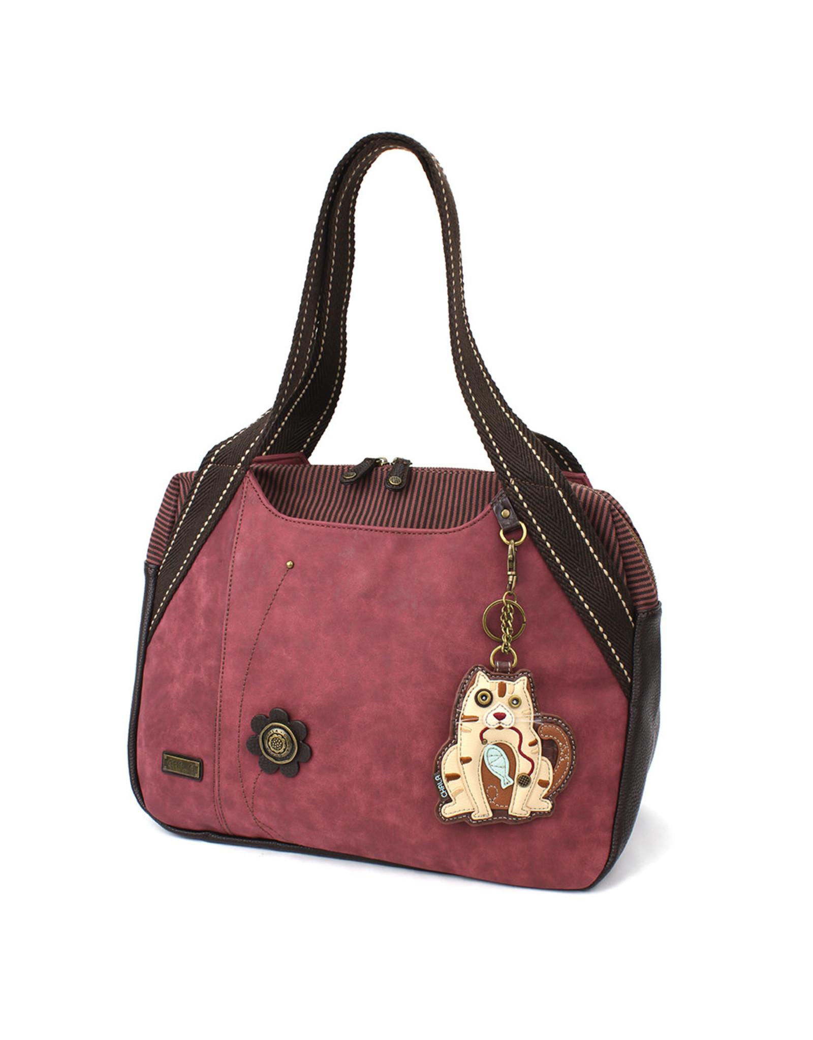 Chala Bowling Bag - Cat Gen II - Burgundy