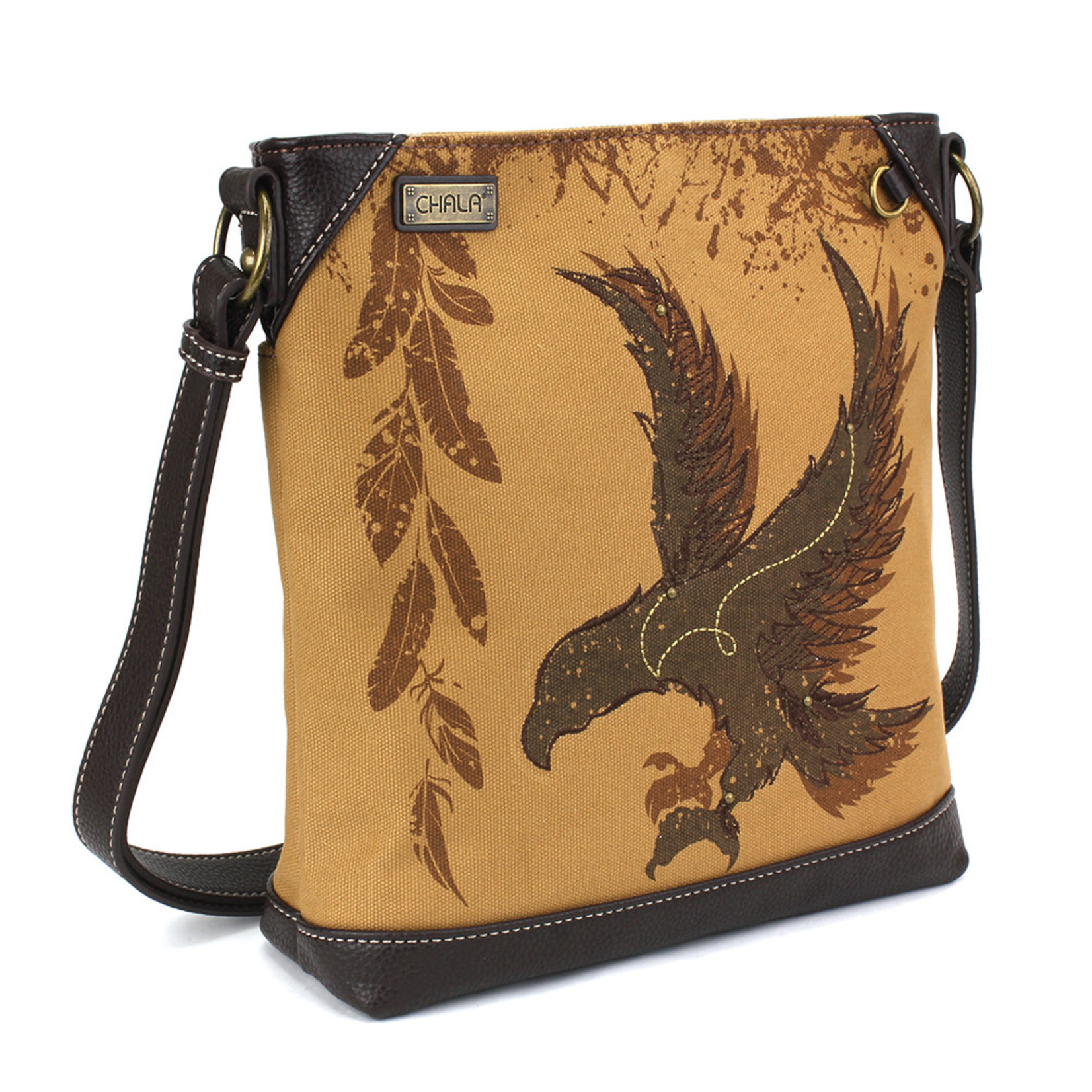 Chala Safari Eagle Canvas Crossbody