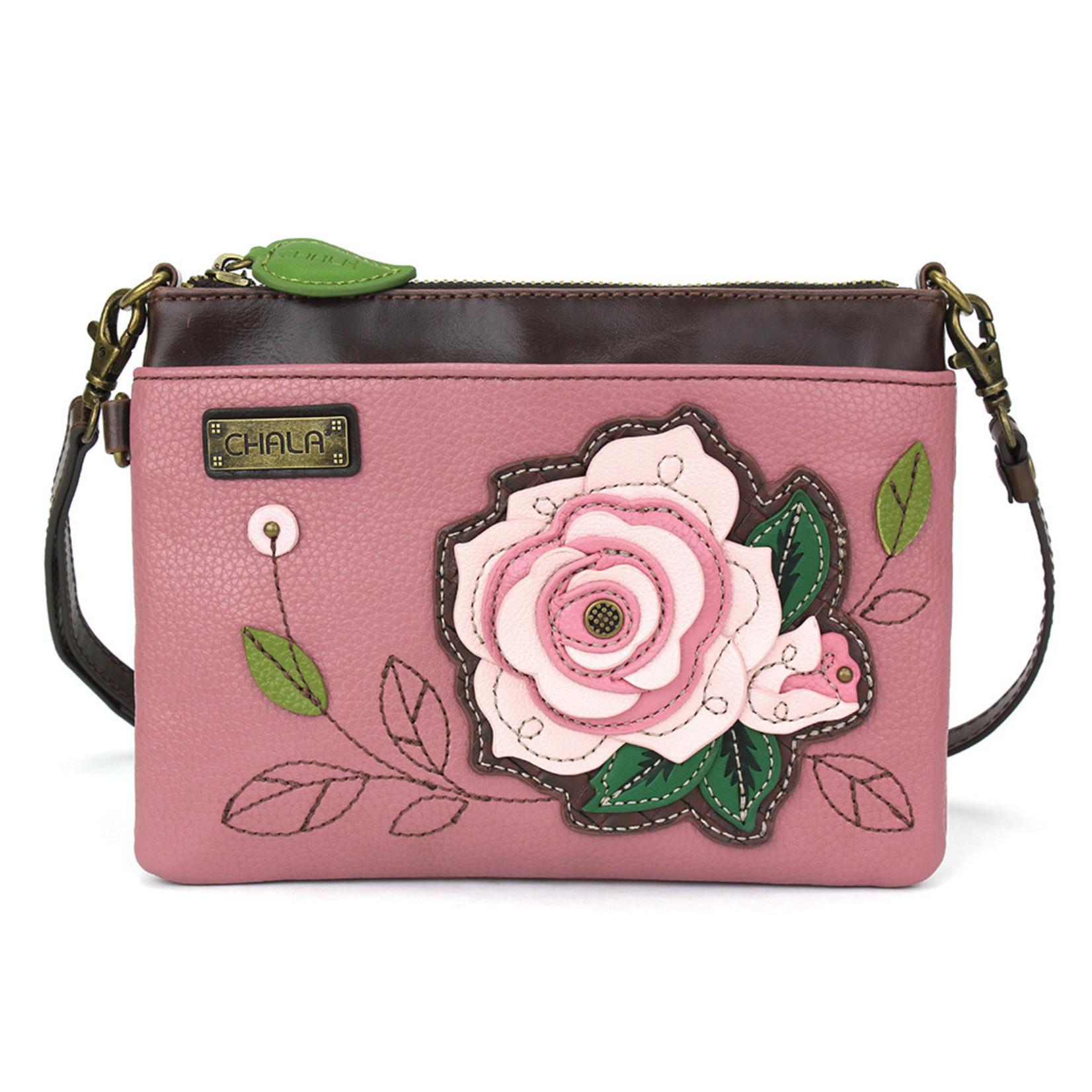 Chala Mini Crossbody - Pink Rose