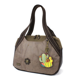 Chala Bowling Bag - Cactus - Stone Gray