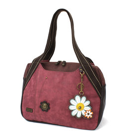 Chala Bowling Bag - Daisy - Burgundy