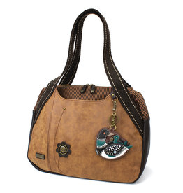 Chala Bowling Bag - Loon Bird - Brown