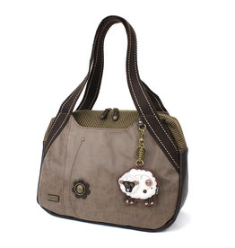 Chala Bowling Bag - Sheep - Stone Gray