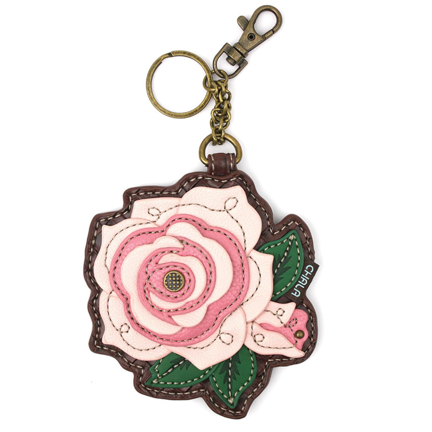 Chala Key Fob Pink Rose