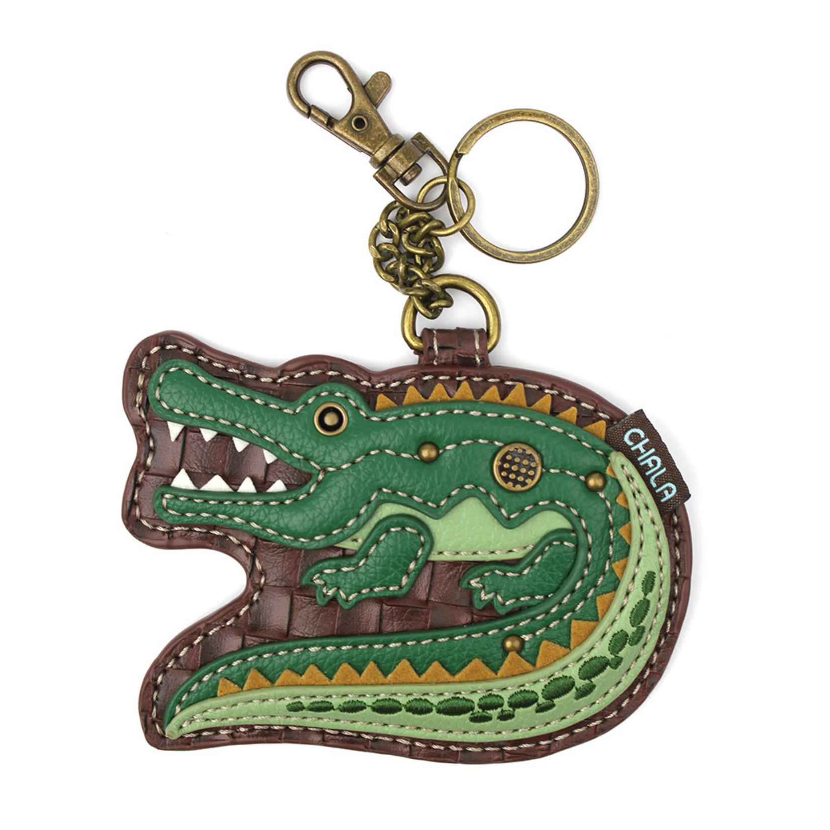Chala Key Fob Alligator