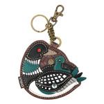 Chala Key Fob Loon Bird