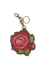 Chala Key Fob Red Rose