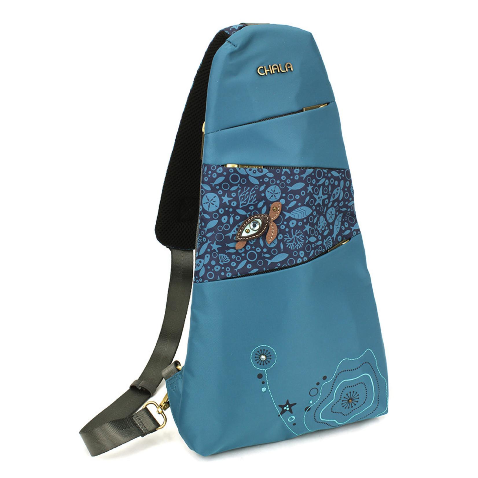 Chala Venture Escape Sling - Turtle - Turquoise