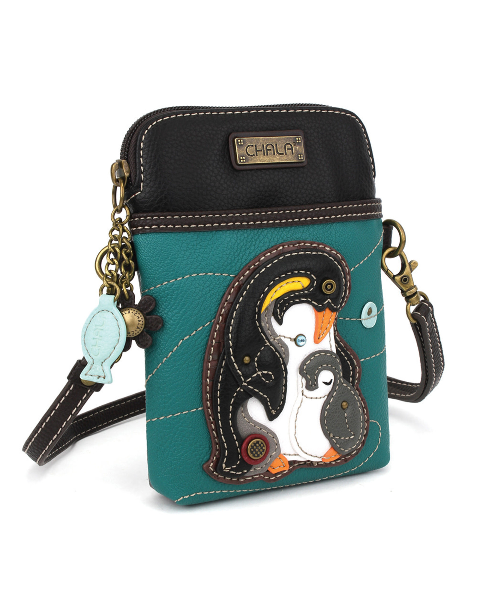 Chala Cell Phone Crossbody - Penguin
