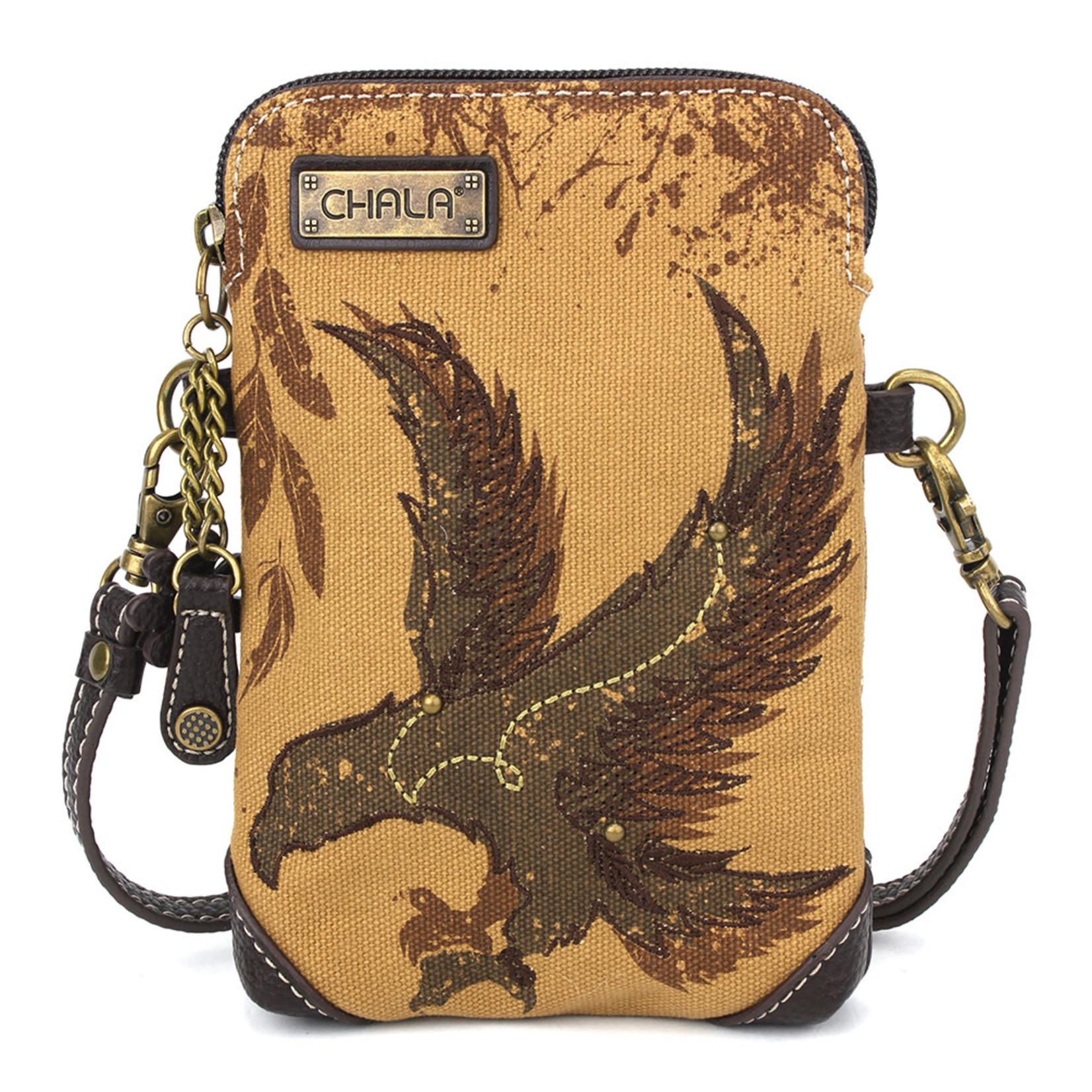 Chala Safari Eagle Cell Phone Crossbody