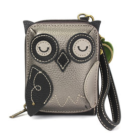 Chala Cute-C Credit Card Holder Wristlet:  Owl