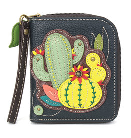 Chala Zip Around Wallet Cactus