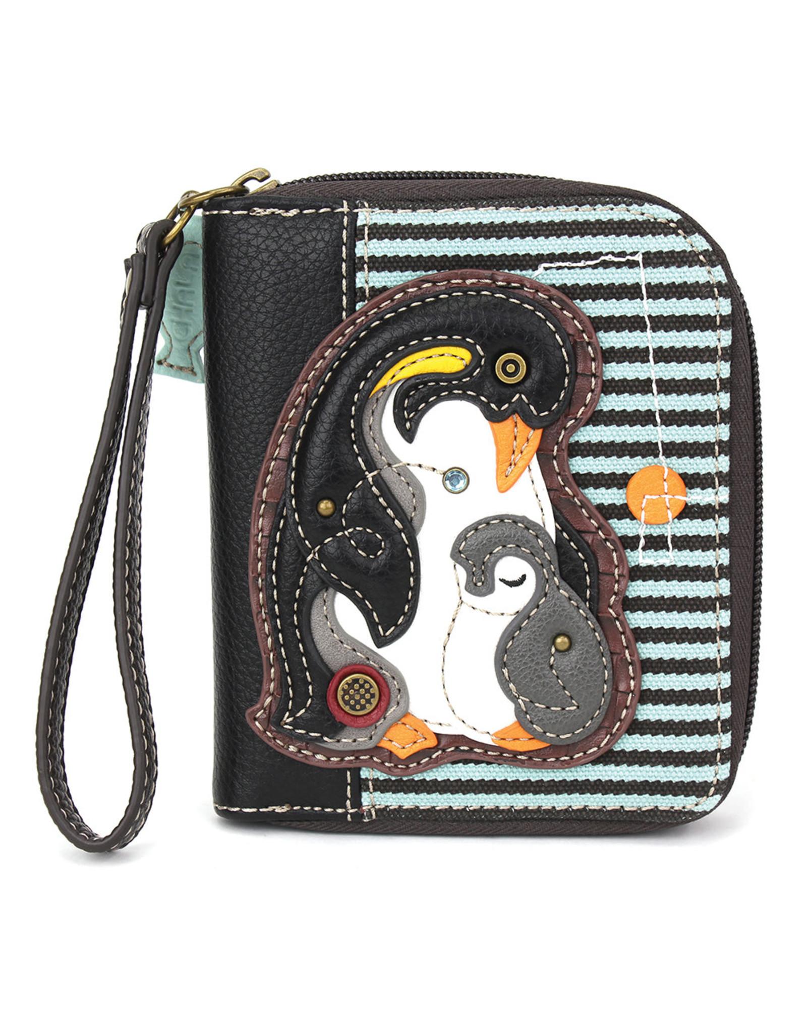 Chala Zip Around Wallet Penguin