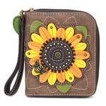 Chala Zip Around Wallet Sunflower