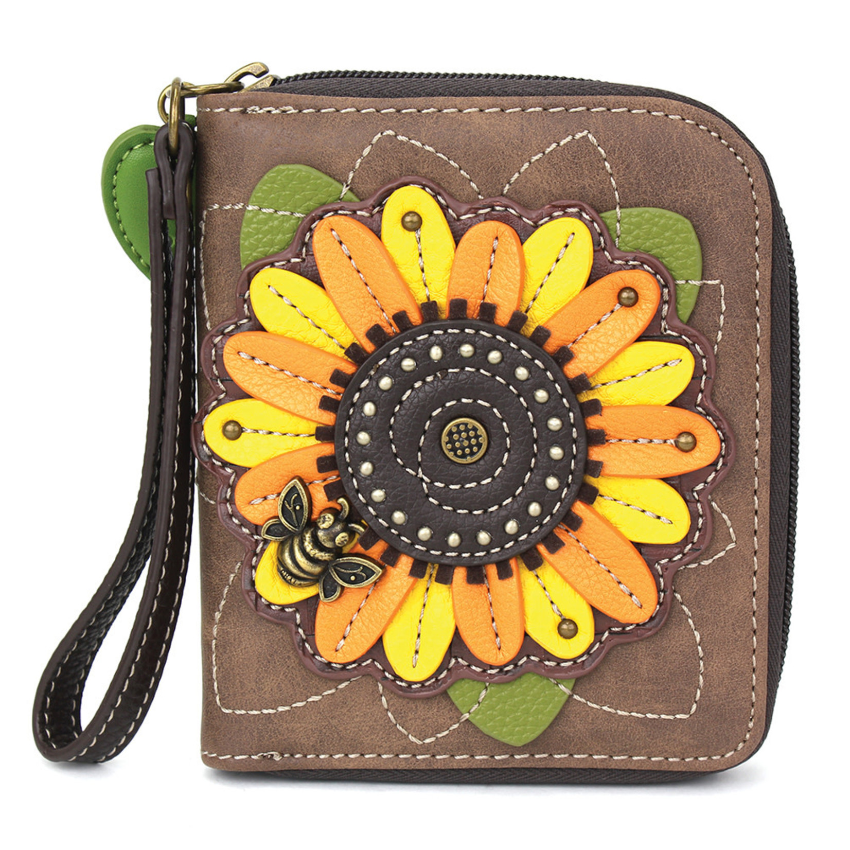 Chala Zip Around Wallet Sunflower