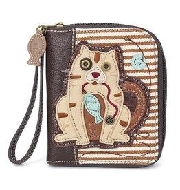 Chala Zip Around Wallet Cat Gen II