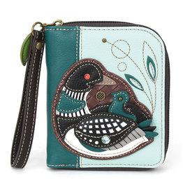 Chala Zip Around Wallet Loon Bird