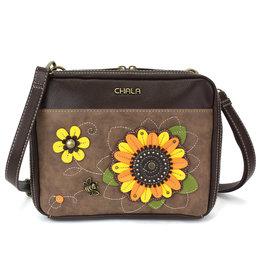 Chala Companion Organizer Crossbody - Sunflower