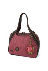 Chala Bowling Bag - Red Rose - Burgundy