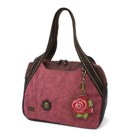 Chala Bowling Bag - Red Rose - Burgundy