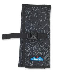 Kavu Power Pouch - Black Topo
