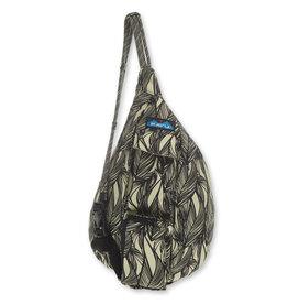 Kavu Mini Rope Bag - Ink Leaf