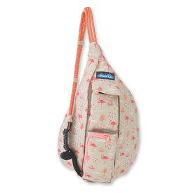 Kavu Mini Rope Bag - Chillin Flamingo