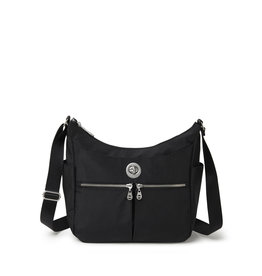 Baggallini Bristol RFID Crossbody Bag - Black