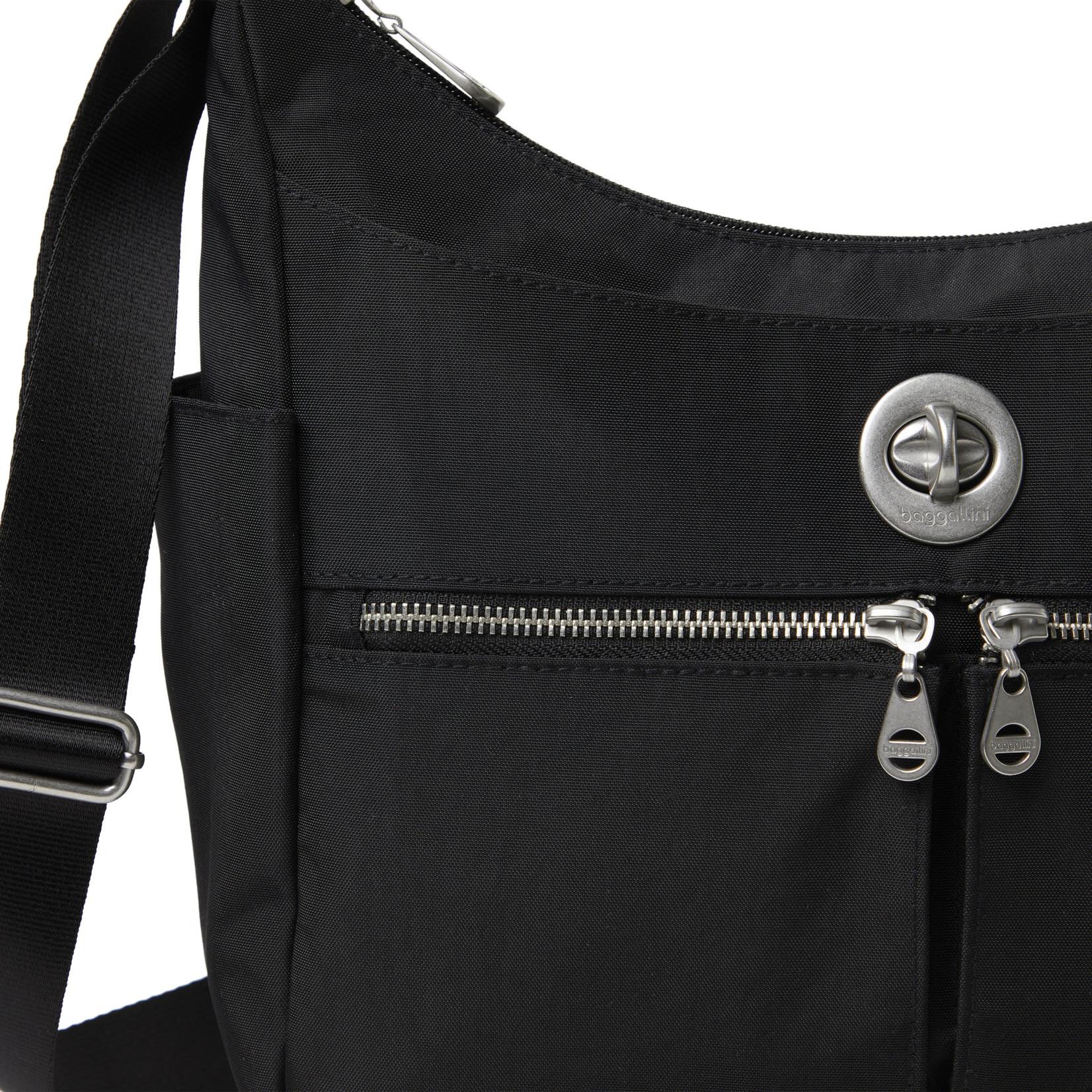 Baggallini Bristol RFID Crossbody Bag - Black