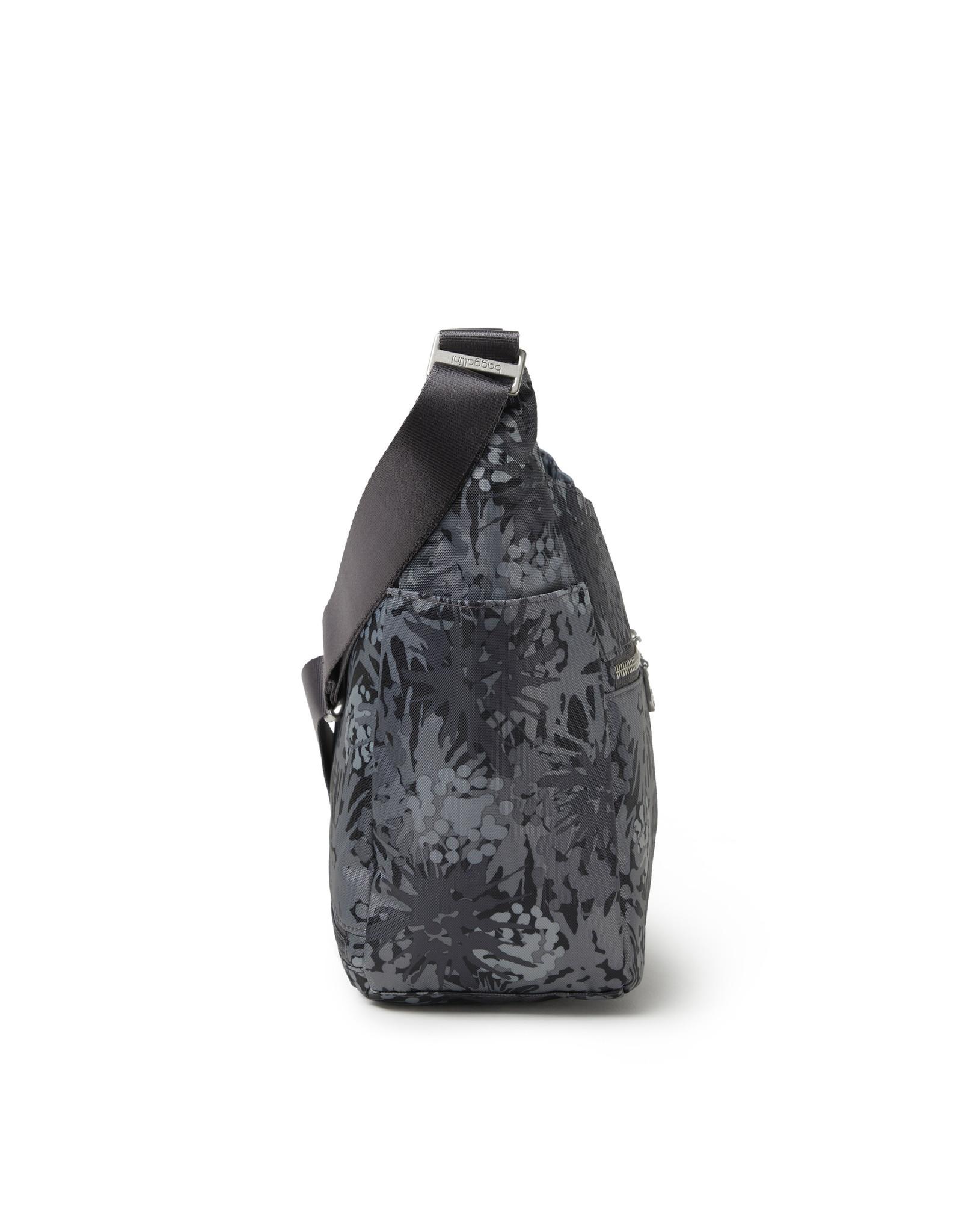 Baggallini Bristol RFID Crossbody Bag - Pewter Thistle