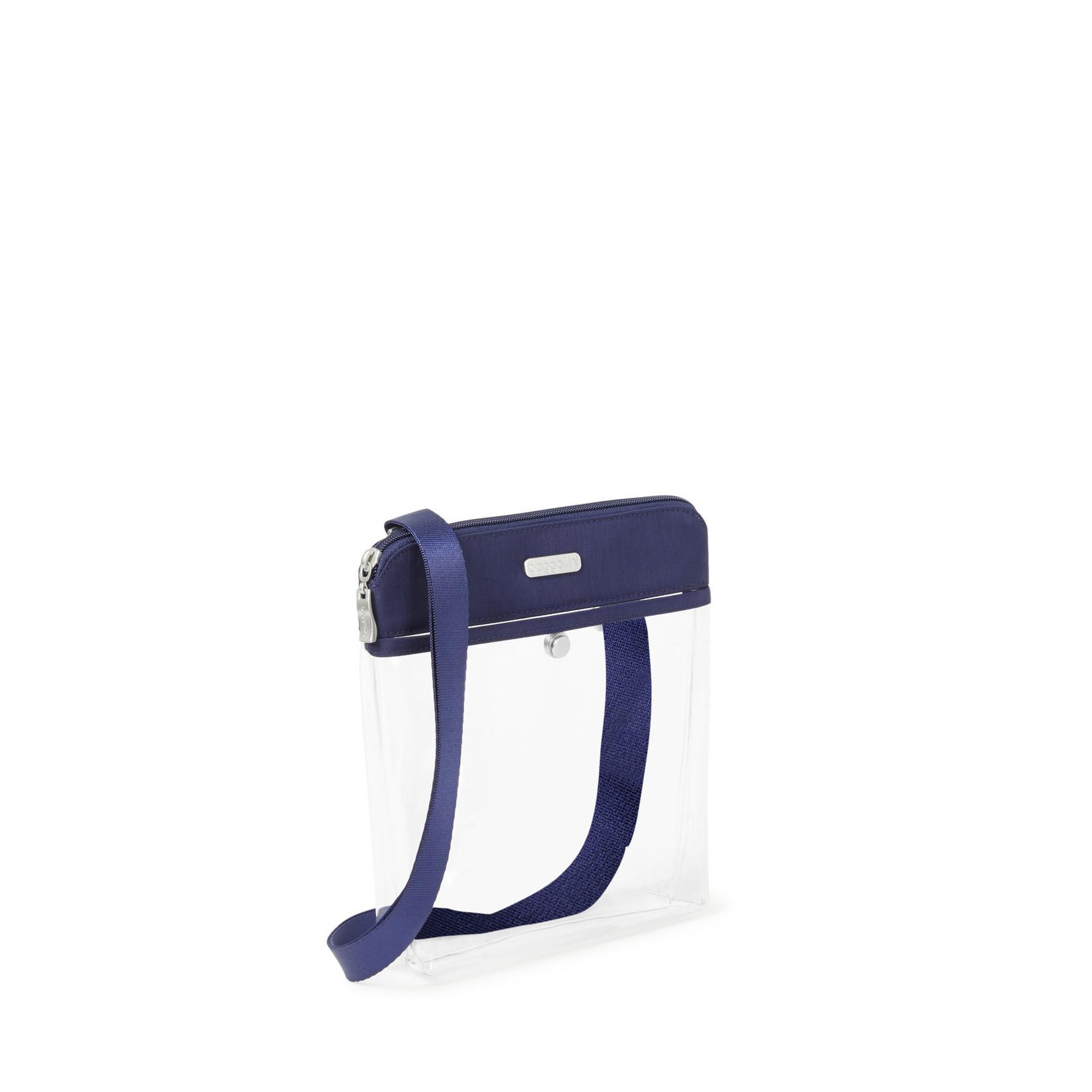 Baggallini Clear Event Compliant Pocket Crossbody - Dark Blue