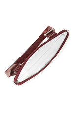 Baggallini Clear Event Compliant Pocket Crossbody - Deep Red