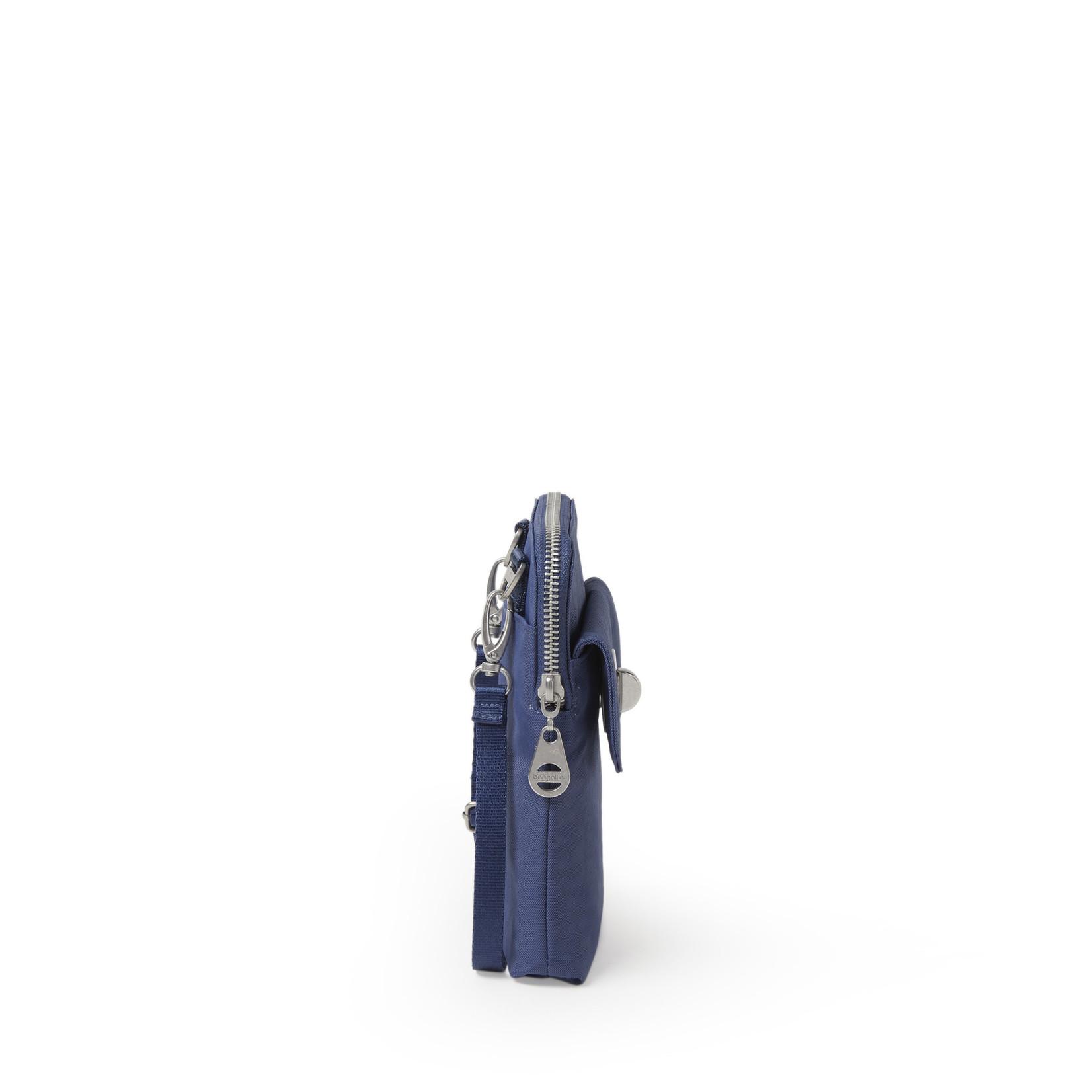 Baggallini Lima RFID Mini Bag - Indigo Sky