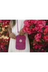 Baggallini Lima RFID Mini Bag - Deep Fuchsia