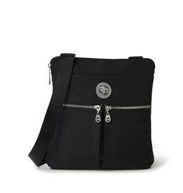 Baggallini Madras RFID Crossbody Bag - Black