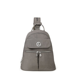 Baggallini Naples Convertible Backpack - Sterling Shimmer