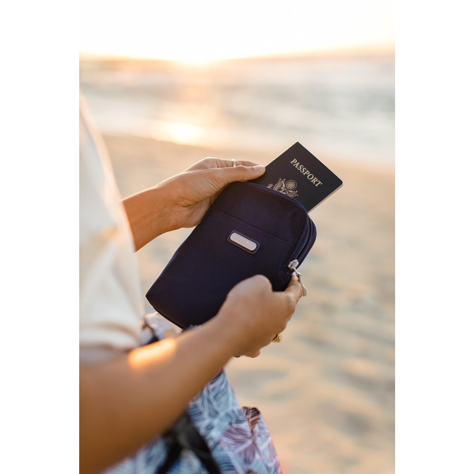 Baggallini Take Two RFID Bryant Crossbody - Portobello Shimmer