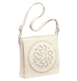 Brighton H35422 Ferrara Cross Body Organizer White