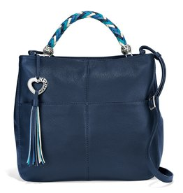 Brighton H4298M Bahamas Handled Tote - Midnight