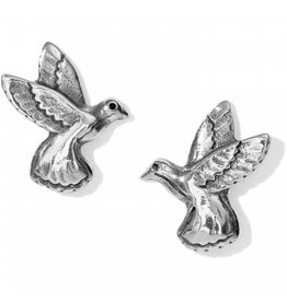 Brighton J22150 Hummingbird Mini Post Earrings