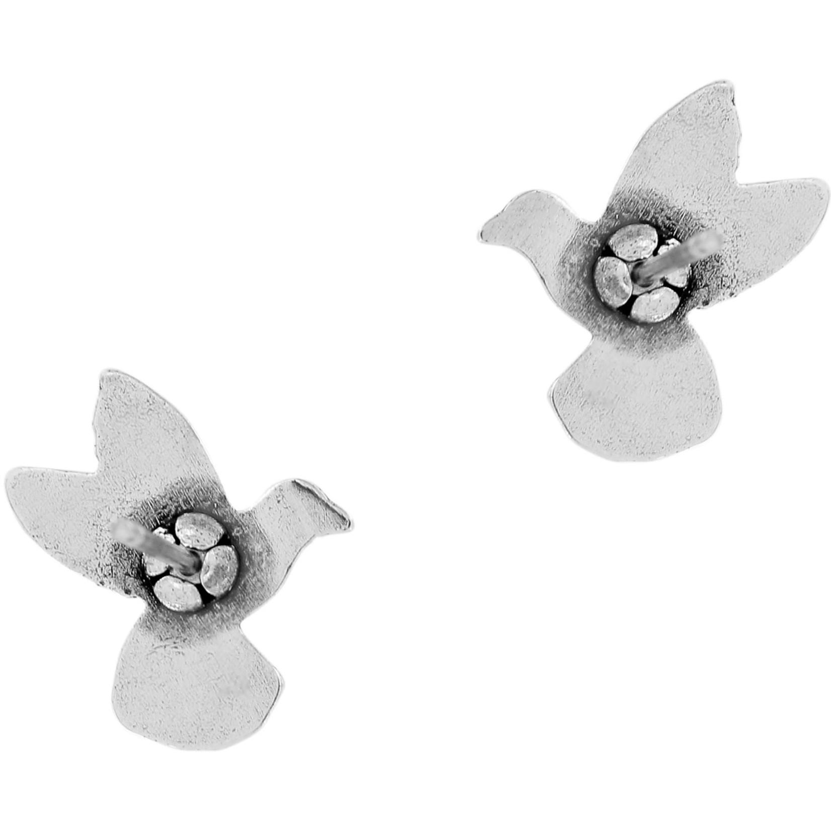 Brighton J22150 Hummingbird Mini Post Earrings