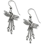 Brighton JA5010 Solstice Dragonfly French Wire Earrings