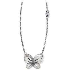 Brighton JL7931 Butterfly Kiss Petite Necklace