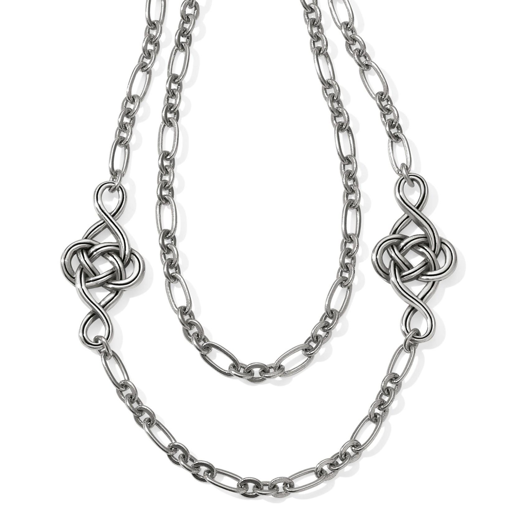 Brighton JL9540 Interlok Knot Layer Necklace