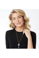 Brighton JM0450 Interlok Large Key Convertible Necklace