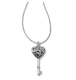 Brighton JM0630 Contempo Heart Key Necklace